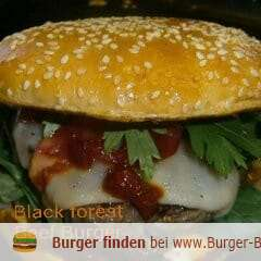 Foto zu Burger Black forest Beef Burger