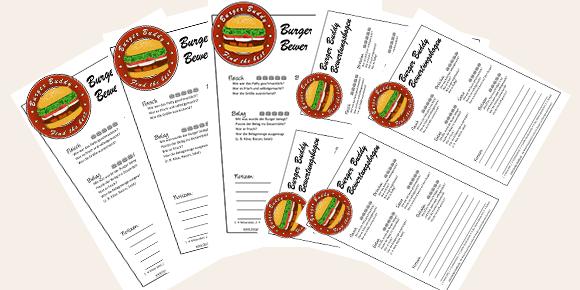 BBBB: Der Burger Buddy-Bewertungsbogen